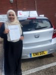 Deba passed with SKY DRIVING SCHOOL