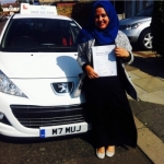 New passer added 23/02/2015 passed with SKY DRIVING SCHOOL