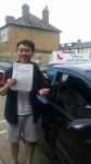 Alex Li passed with SKY DRIVING SCHOOL