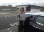 Shantelle Peppin passed with Steve Chillingworth Driver Training