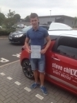 Jordan bailey passed with Steve Chillingworth Driver Training