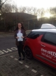 Becca Nurcombe passed with Steve Chillingworth Driver Training