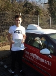 Charley Prosser passed with Steve Chillingworth Driver Training