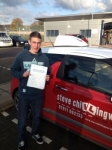 Elliot Hector passed with Steve Chillingworth Driver Training