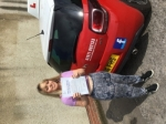Sophie Upsall  passed with Steve Chillingworth Driver Training