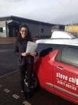 Beth Neilson passed with Steve Chillingworth Driver Training