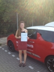 Alice Vearncombe passed with Steve Chillingworth Driver Training
