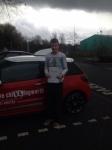 Matt Hubbard passed with Steve Chillingworth Driver Training