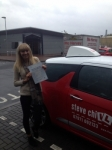 Charlotte Beasley passed with Steve Chillingworth Driver Training