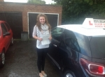 Nicole Boyer  passed with Steve Chillingworth Driver Training