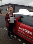 Sophie Buck passed with Steve Chillingworth Driver Training