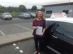 Lisa Cheffey  passed with Steve Chillingworth Driver Training