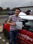 Josh Lewis  passed with Steve Chillingworth Driver Training