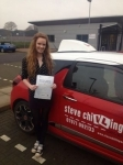 Chloé Tozer passed with Steve Chillingworth Driver Training