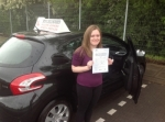 Stacey Lemar Heritage passed with Steve Chillingworth Driver Training
