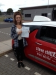CHLOE PETERSON 15/07/14 passed with Steve Chillingworth Driver Training