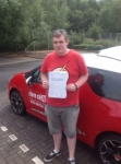 CRAIG STANDEN 07/07/2014 passed with Steve Chillingworth Driver Training