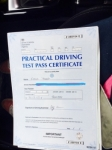 21st Feb 2017 passed with Steve Chillingworth Driver Training