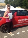 GEMMA CHIPPERFIELD 24/07/14 passed with Steve Chillingworth Driver Training