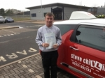 6th March2017 passed with Steve Chillingworth Driver Training