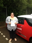 LEANNE MEAKER 07/07/14 passed with Steve Chillingworth Driver Training