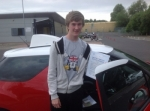 mitch jones passed with Steve Chillingworth Driver Training