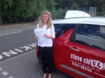 NAOMI WATTS 27/06/14 passed with Steve Chillingworth Driver Training