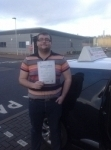 Nick hughes passed with Steve Chillingworth Driver Training