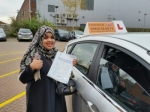Halima passed with Empower Driving School