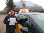 Braulio passed with Empower Driving School