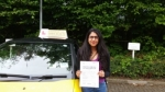 Pia Shah passed with Empower Driving School