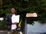 Cleon passed with Empower Driving School