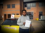 Khalid passed with Empower Driving School