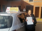 Jade passed with Empower Driving School
