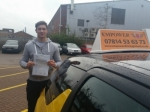 Oliver passed with Empower Driving School