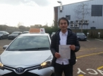 Rong passed with Empower Driving School