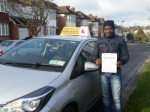 Harve passed with Empower Driving School