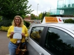 Lesley passed with Empower Driving School