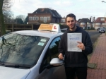 Adam passed with Empower Driving School