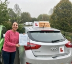Aman passed with Empower Driving School