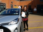 Aprilyn passed with Empower Driving School