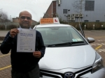 Ashraf passed with Empower Driving School