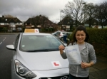 Jenny passed with Empower Driving School