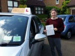 Jessica passed with Empower Driving School