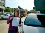 Lindsey passed with Empower Driving School
