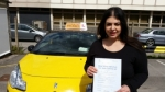 Maryam passed with Empower Driving School