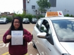 Melis passed with Empower Driving School