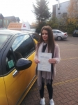 Pembe passed with Empower Driving School
