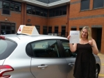 Naomi passed with Empower Driving School