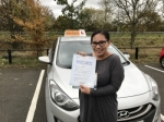 Teresa passed with Empower Driving School